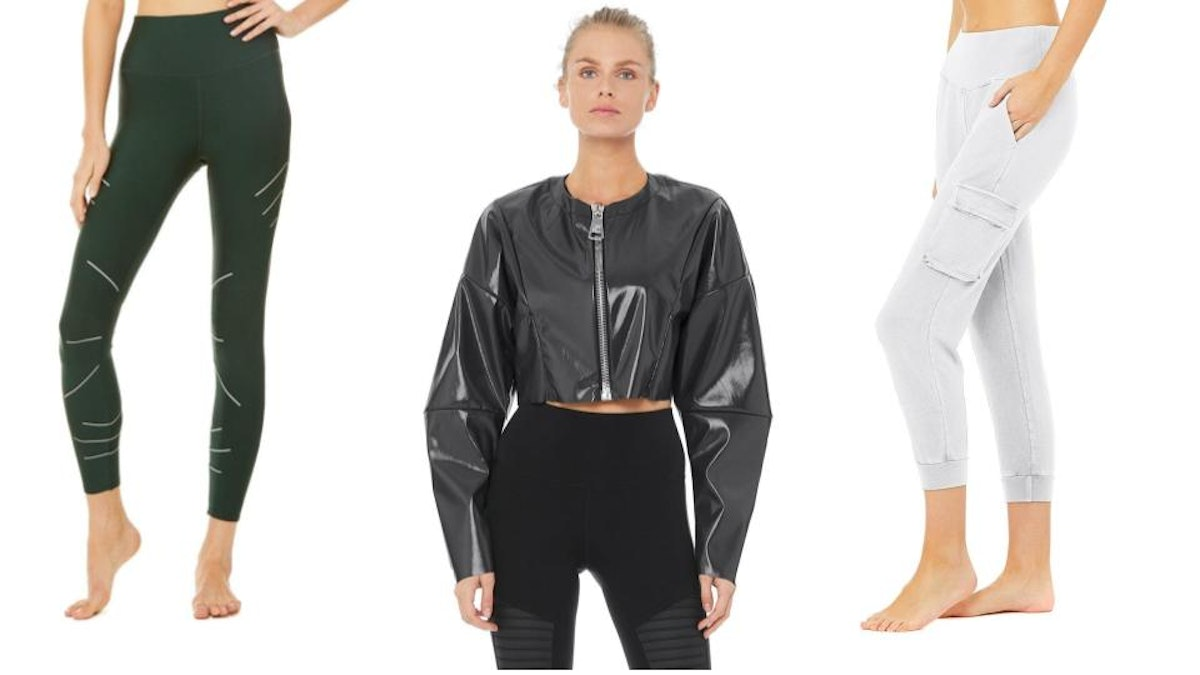 A selection from Alo Yoga's up to 40% off sale.