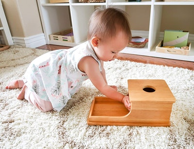 Montessori & Me Object Permanence Box