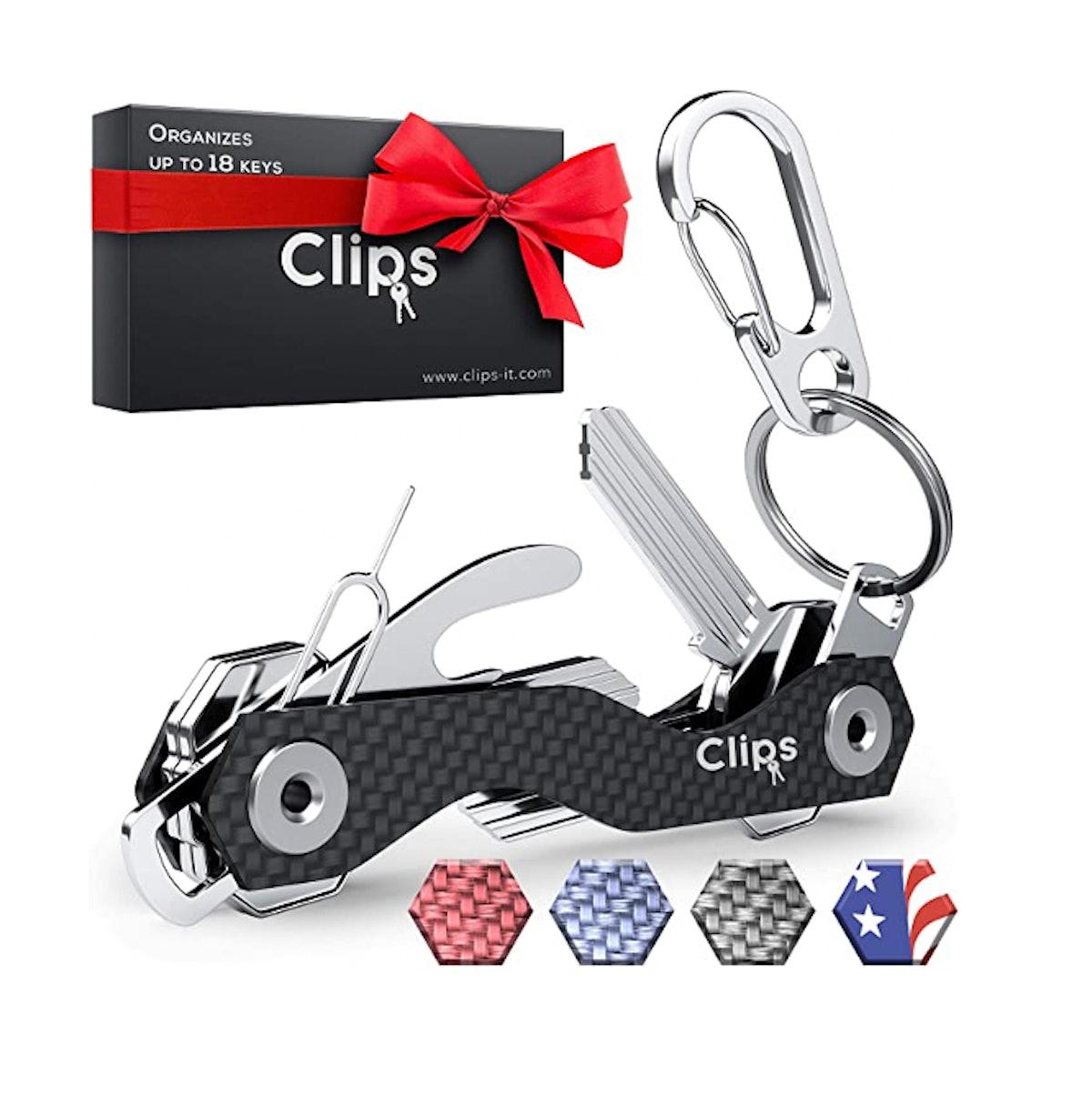 Clips Smart Compact Key Organizer
