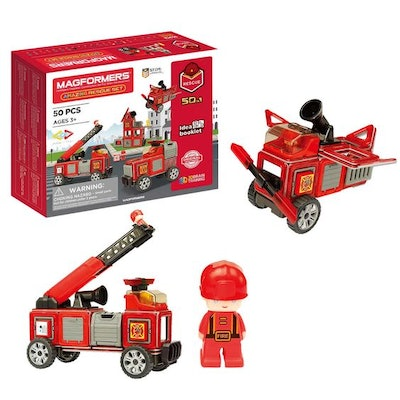 Magformers Rescue Set, 50-piece