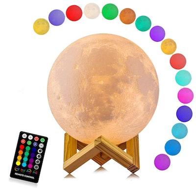 LOGROTATE Moon Lamp