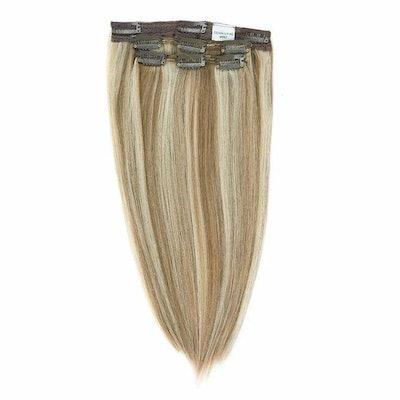Crown Clip Ins - Dark Ash Blonde Mix - 882