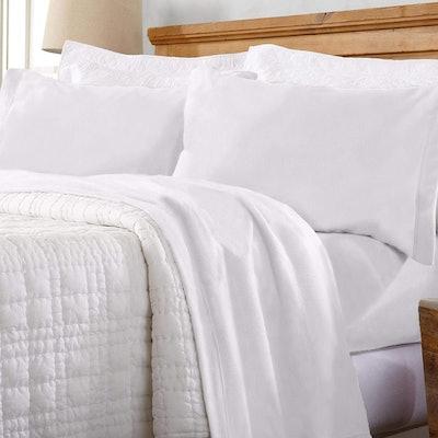 Great Bay Home Extra Plush Fleece Sheet
