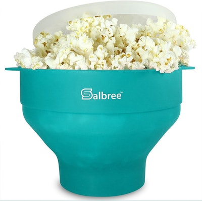Salbree Microwave Popcorn Popper Bowl