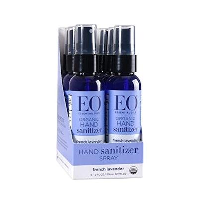 EO Organic French Lavender Hand Sanitizer Spray (6-Pack)