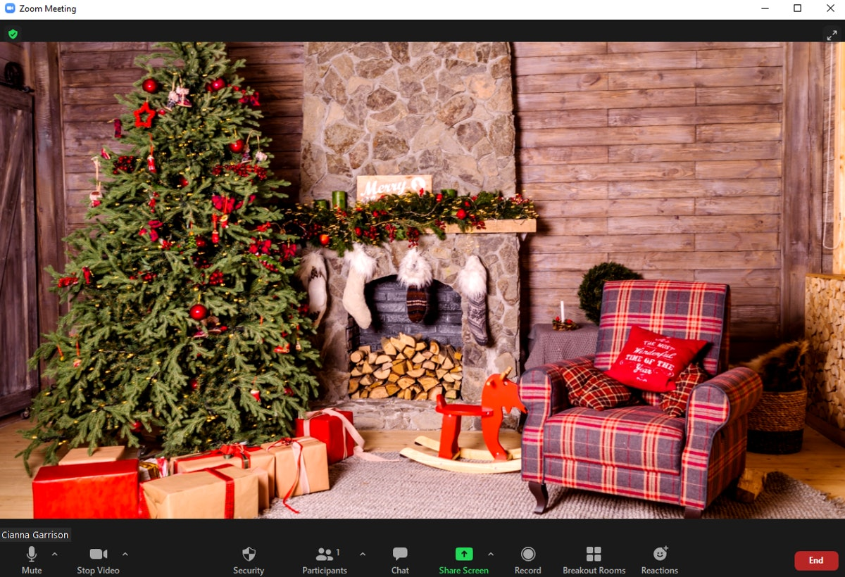These 12 Christmas tree Zoom backgrounds will liven up your calls.