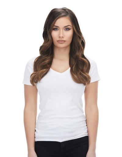 Silk Seam Almond Brown (7) Hair Extensions