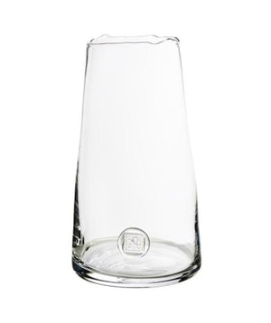 Medallion Clear Vase