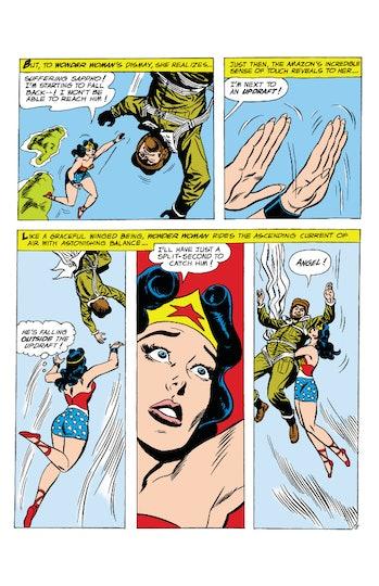 Wonder Woman 1984 flying