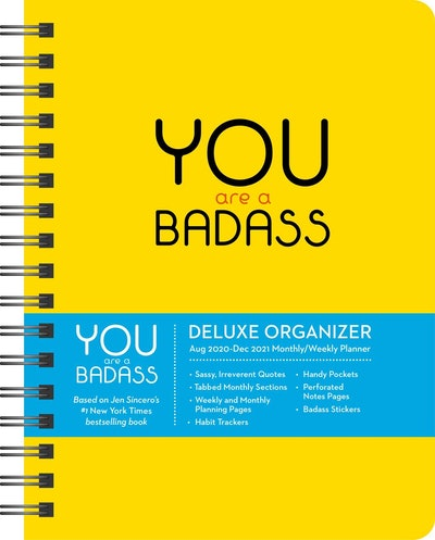 You Are a Badass Monthly Planner
