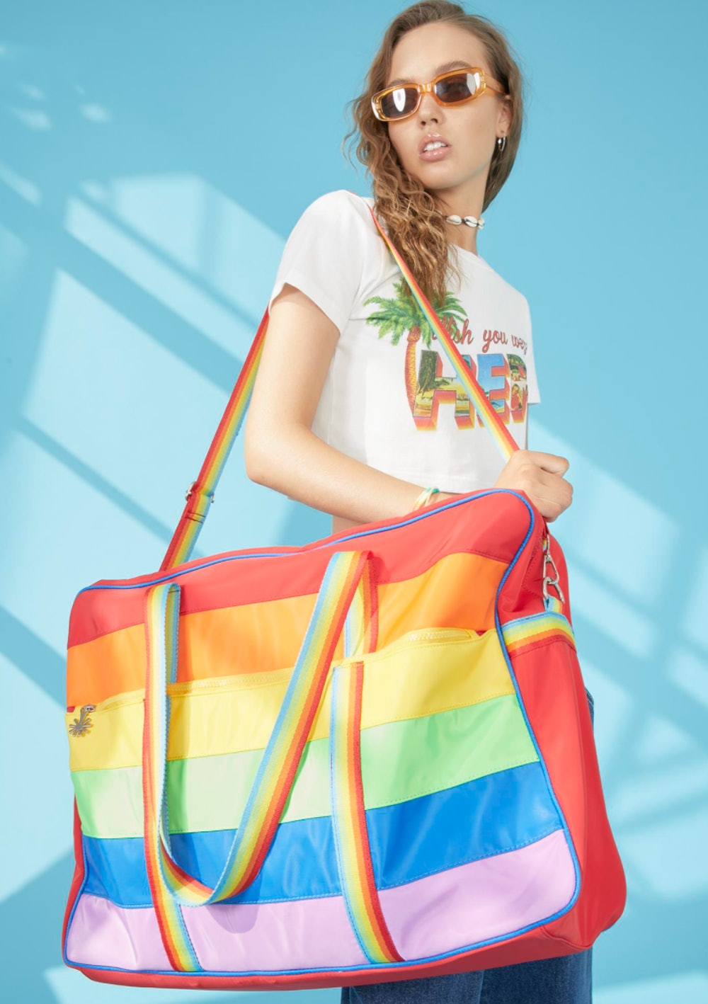 Follow The Rainbow Weekender Bag