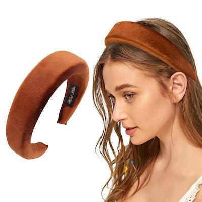 Oaoleer Padded Velvet Headband