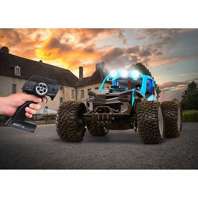 Power Craze Shift 24 Mini RC, High Speed Buggy - Blue