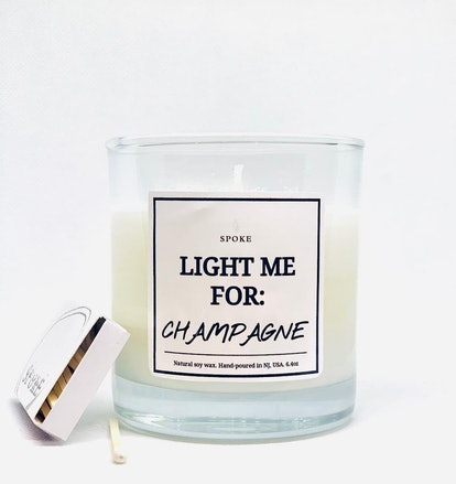 Light for Champagne Candle