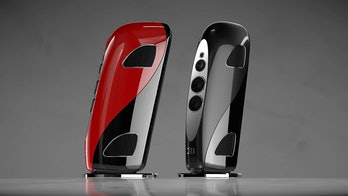The red and black series for Bugatti and Tidal's audio speakers.