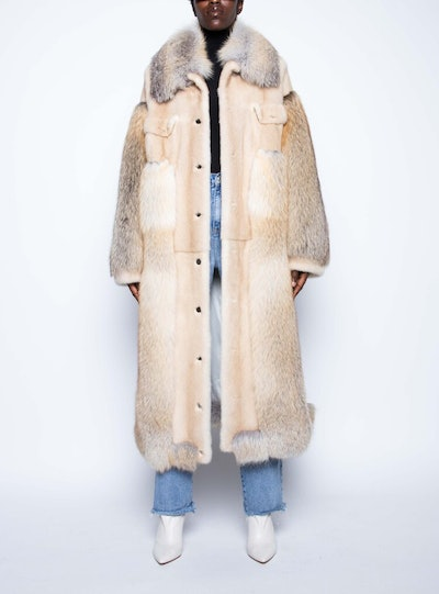 Golden Islands Fur Coat