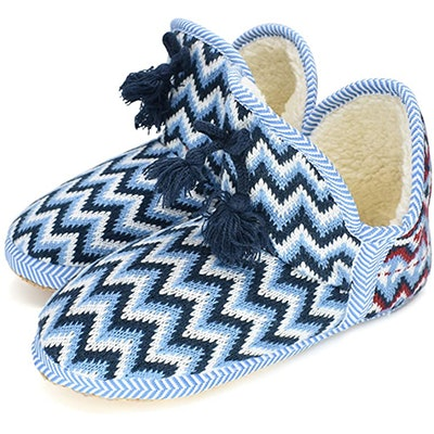 GPOS Knit House Slipper Booties