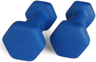 Portzon Neoprene Dumbells (2-Pack)