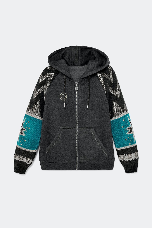 Ethnic hybrid jacket