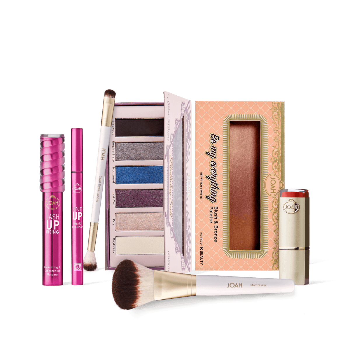 JOAH Beauty Glam On Gift Bundle + FREE cosmetic bag
