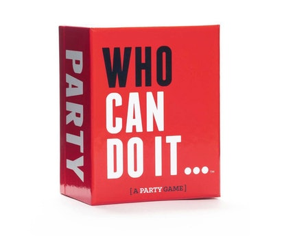 Who Can Do It... Party Game