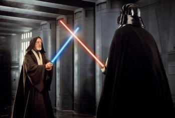 obi-wan kenobi darth vader duel lightsaber
