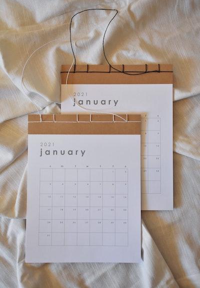 2021 Yasashi Wall Calendar