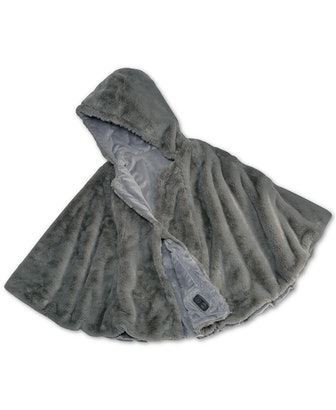 Cordless Throw & Cape with Soothing Heat & Vibrating Massage