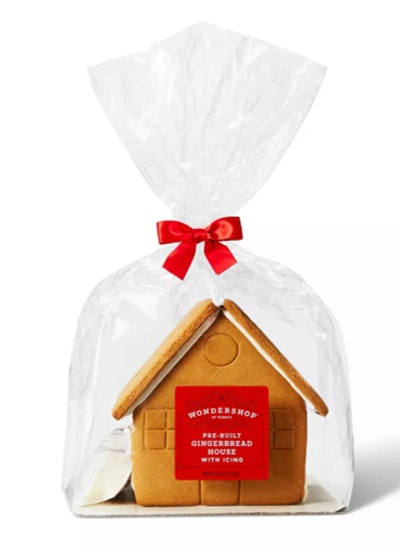 Pre-Built Gingerbread House with Icing - Wondershop™