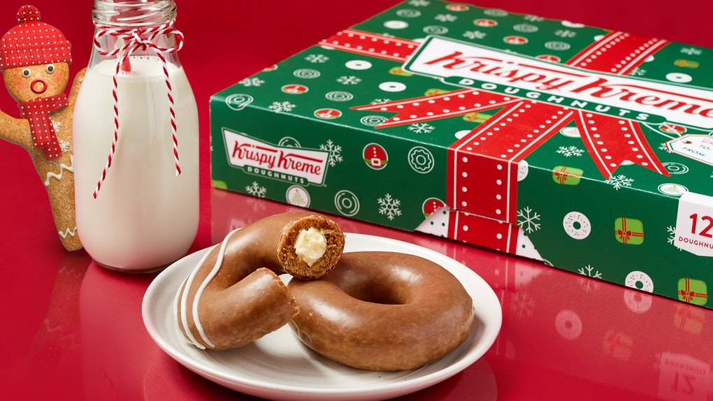 Here's how long Krispy Kreme's gingerbread doughnuts will be available in 2020.