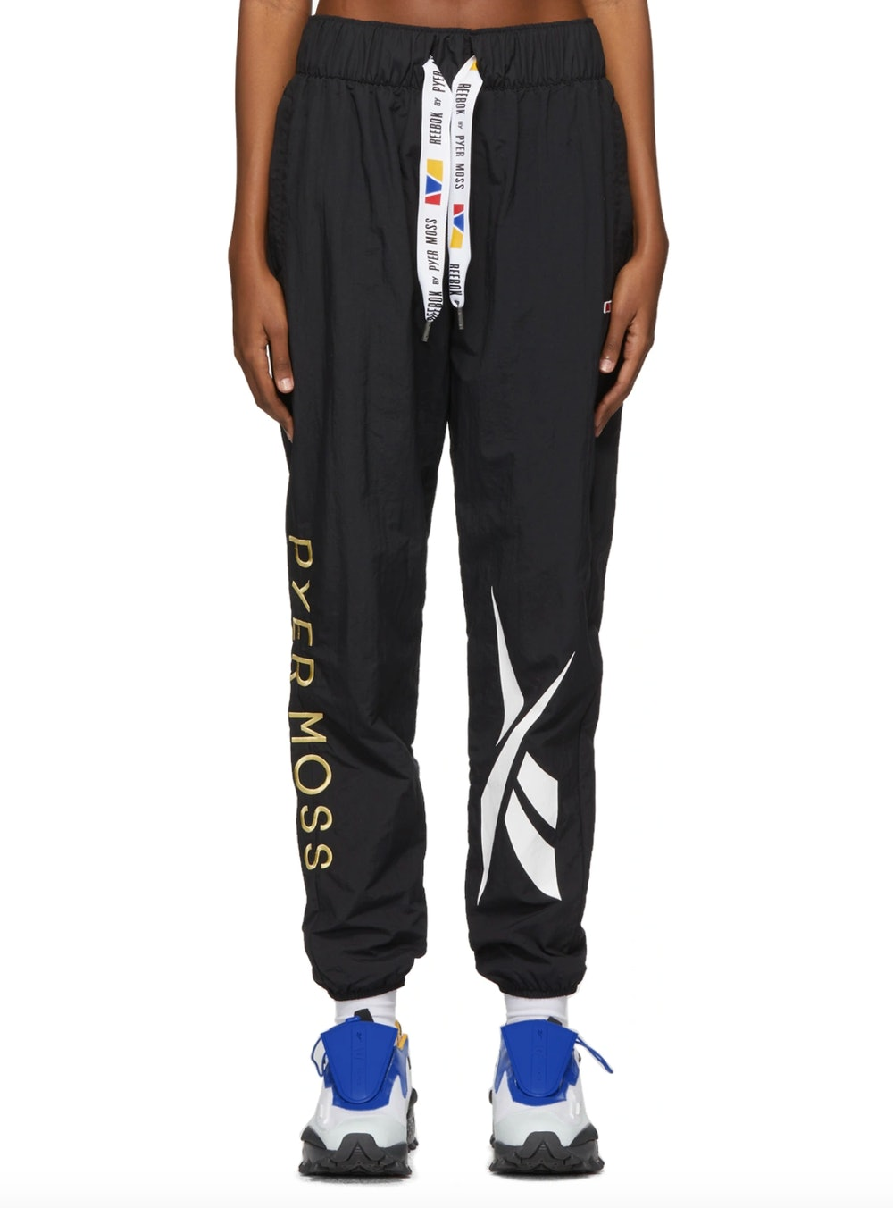 Black Franchise Track Pants