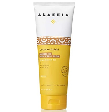 Alaffia Coconut Reishi Hand and Body Cream
