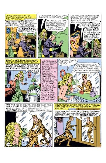 Wonder Woman Λεοπάρδαλη