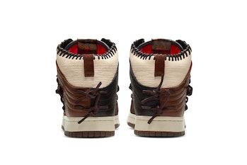 "Bodega Nike Dunk High ""Fauna Brown"""