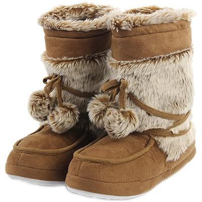 Home Slipper Plush Boots