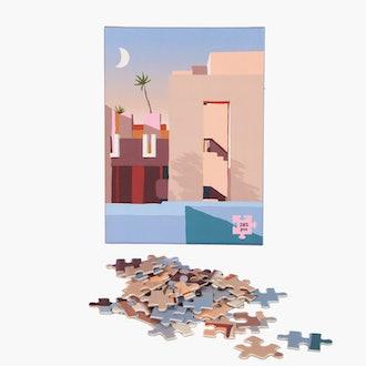 La Muralla Roja 285 Piece Puzzle