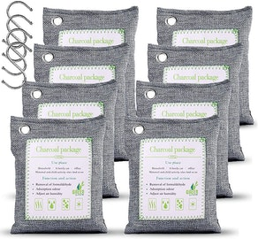 WGCC Activated Bamboo Charcoal Air Purifying Bags (8-Pack)