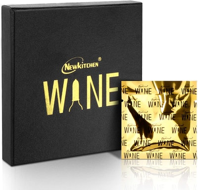 NEWKITCHEN Wine Bottle Condoms (8-Pack)