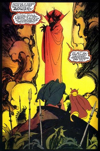mephisto marvel comics loki wandavision