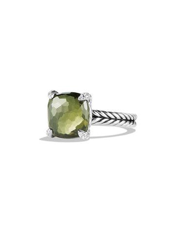 11mm Chatelaine Ring w/Diamond Prongs