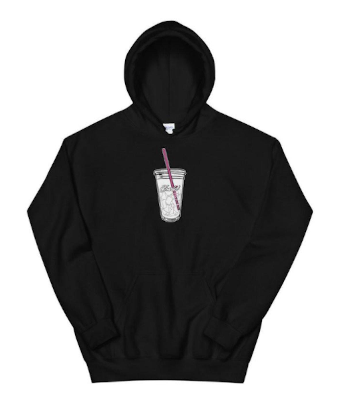 Charli D'Amelio Merch Iced Coffee Unisex Hoodie