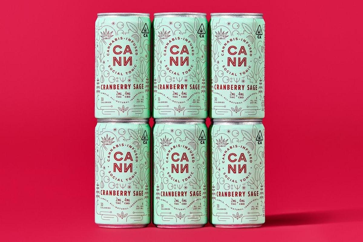 Cann Cranberry Sage 4-Pack