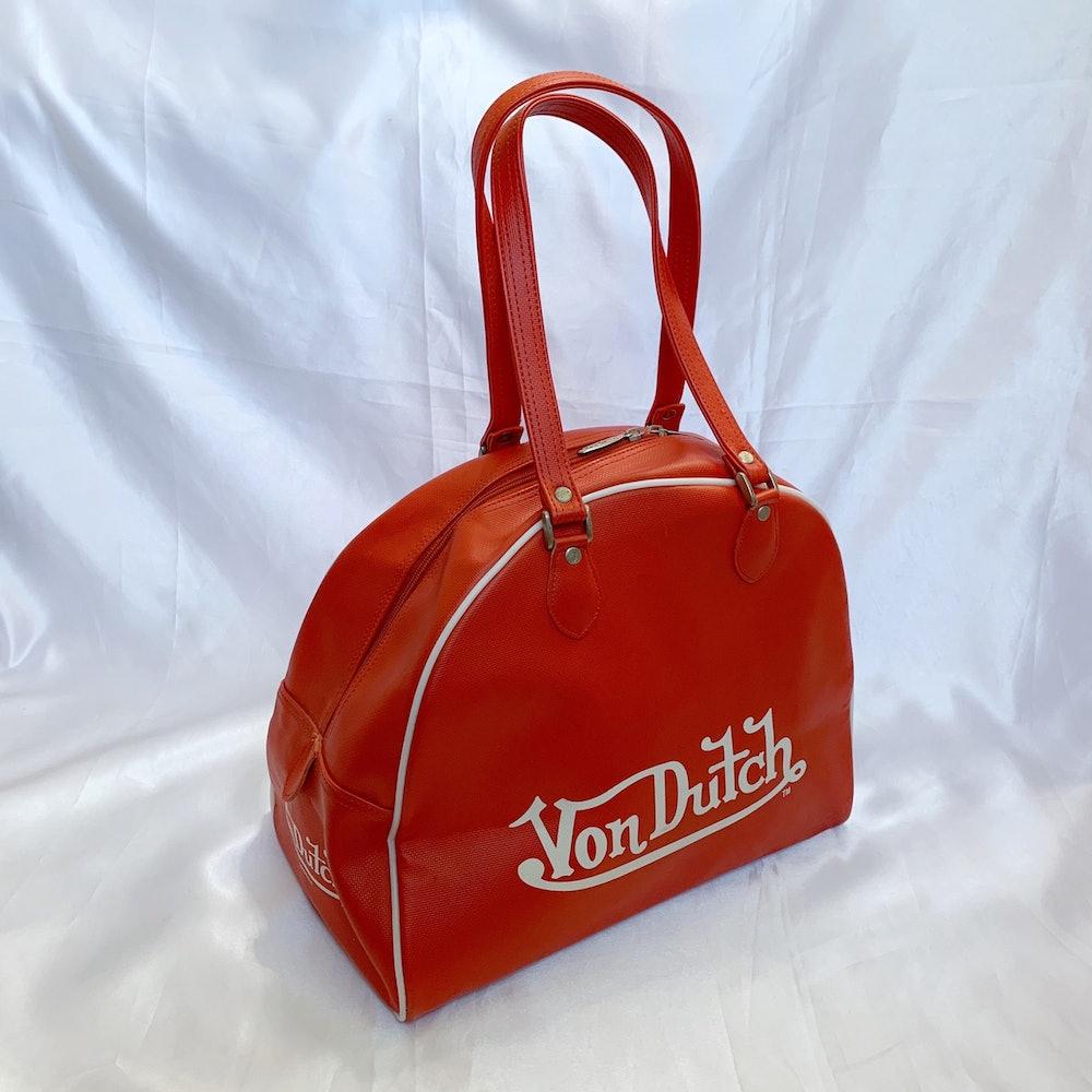 Large Red Bowling Bag