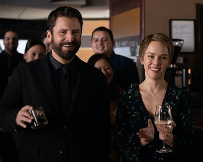 Maggie and Gary on A Million Little Things via the ABC press site