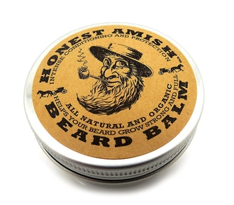 Honest Amish Beard Balm Leave-in Conditioner