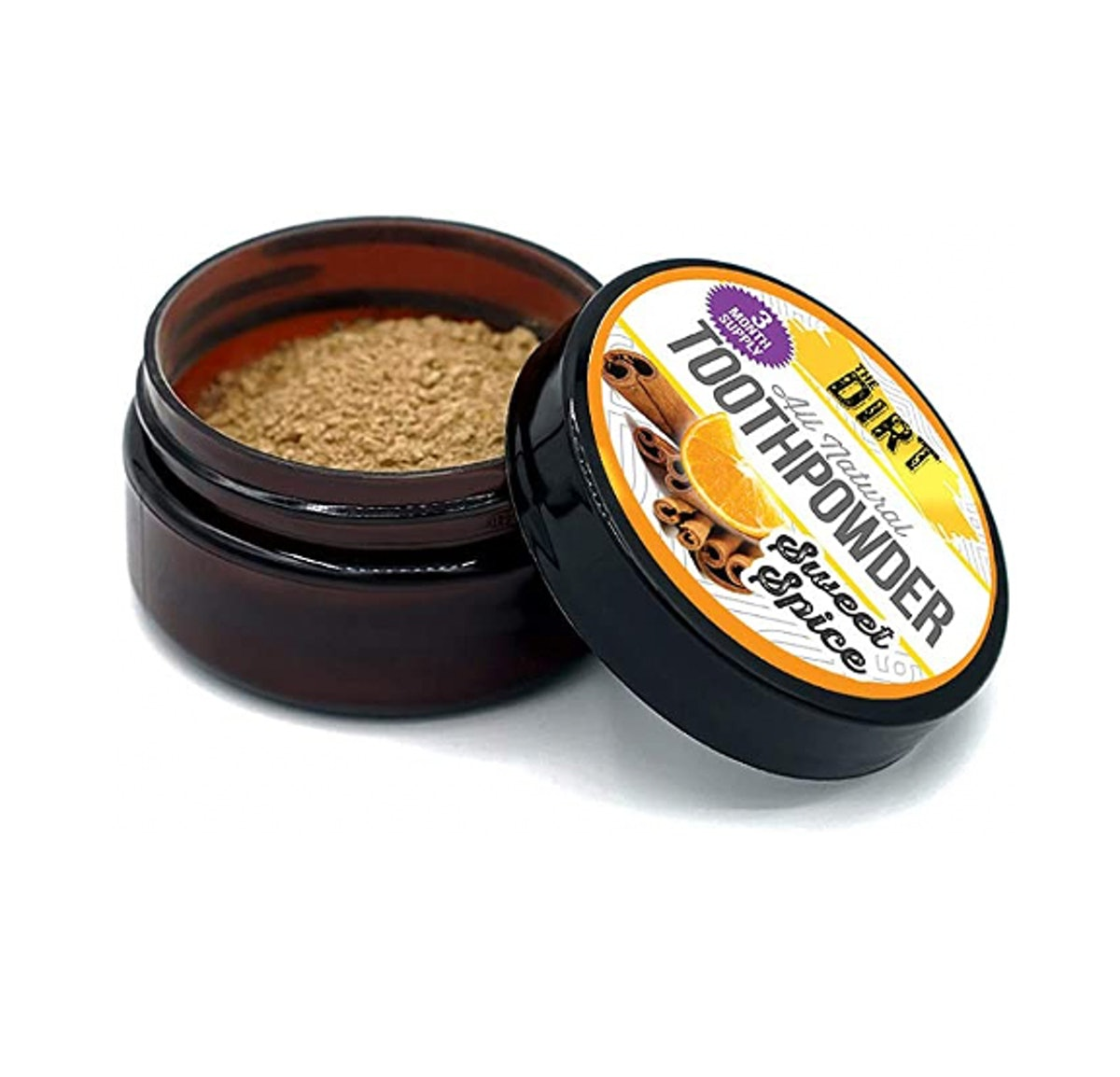 The Dirt All Natural Tooth Powder