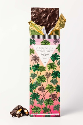 California Love Pretzel Dark Chocolate Bar