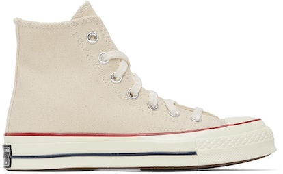 Off-White Chuck 70 High Sneakers (Parchment)