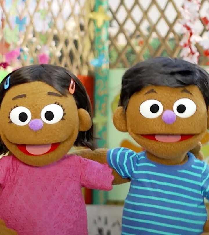 'Sesame Street' is introducing two new Rohingya Muppets as a means of helping Refugee children.