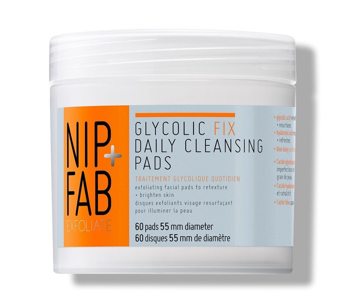 Nip + Fab Glycolic Fix Daily Cleansing Pads (60 Pads)